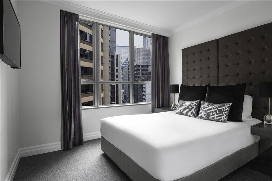 Bedroom at Mantra 2 Bond Street, Centre, Sydney