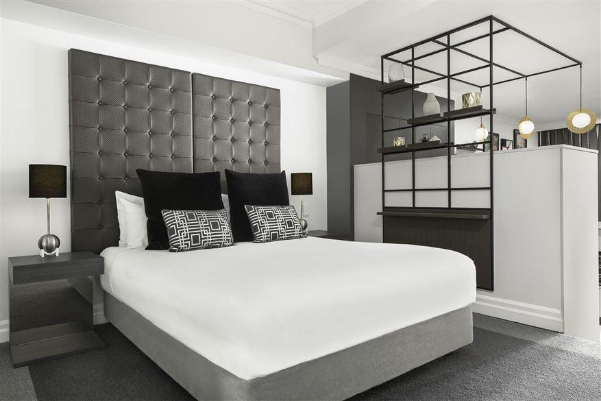 Comfy bed at Mantra 2 Bond Street, Centre, Sydney