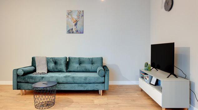 Living area at Garden Gates Apartments, Centre, Gdansk