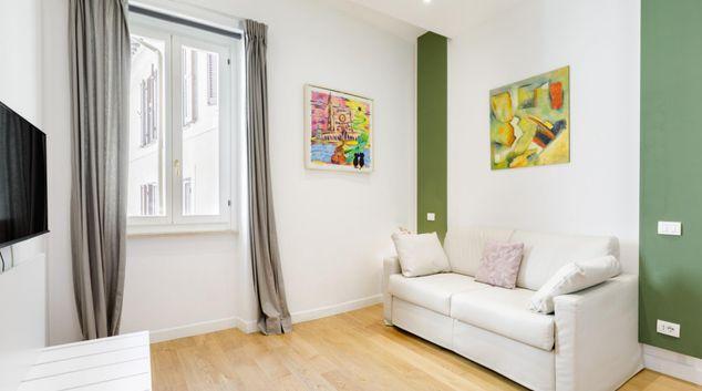 Living area at Corso Apartment, Centre, Rome