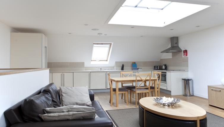 Living space at Canning Street Apartments