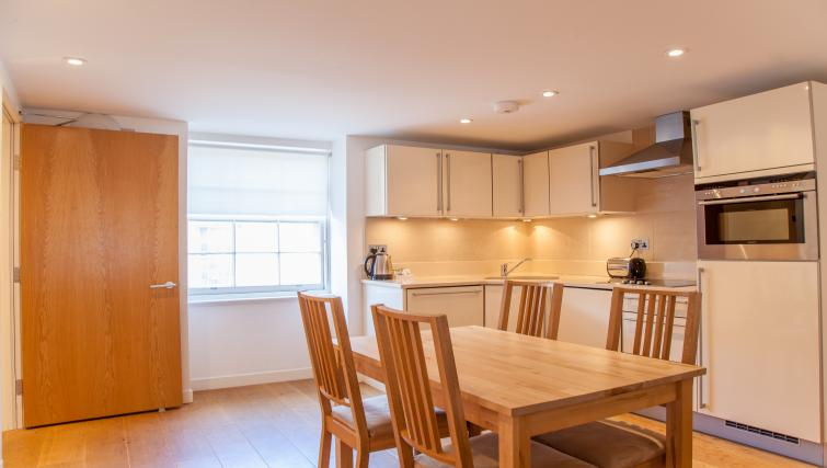Kitchen at Canning Street Apartments