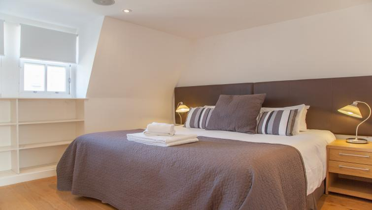 Bedroom at Canning Street Apartments