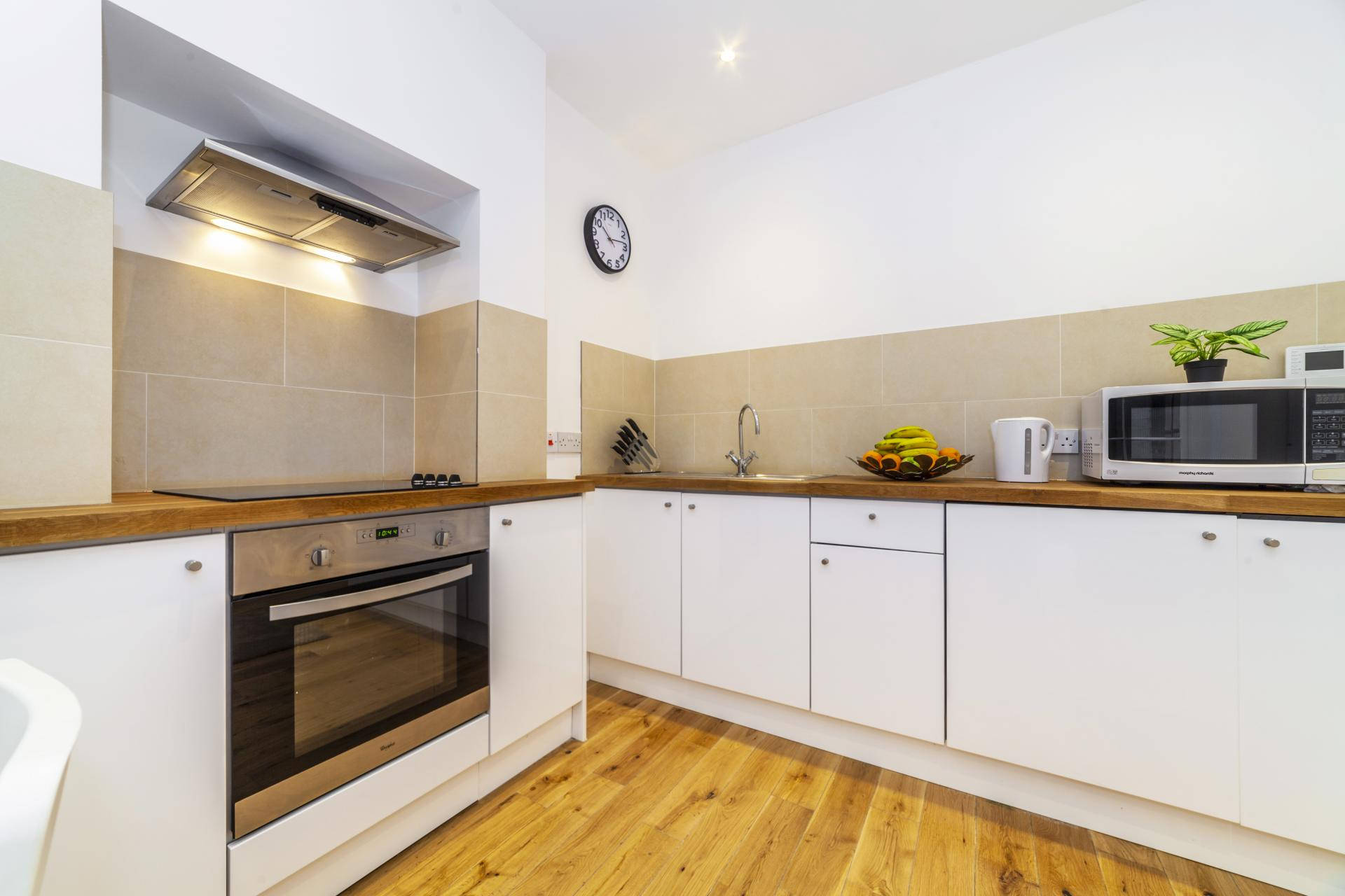 Kitchen at Devonshire Terrace Apartments, Bayswater, London