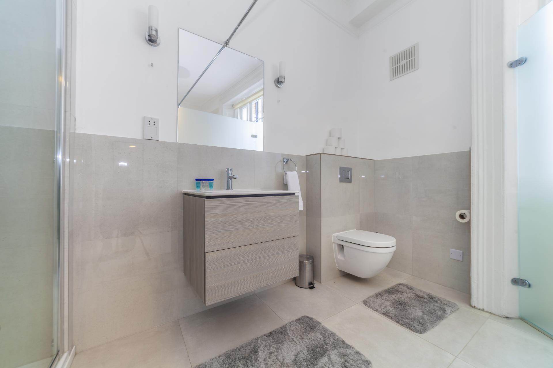 WC at Devonshire Terrace Apartments, Bayswater, London