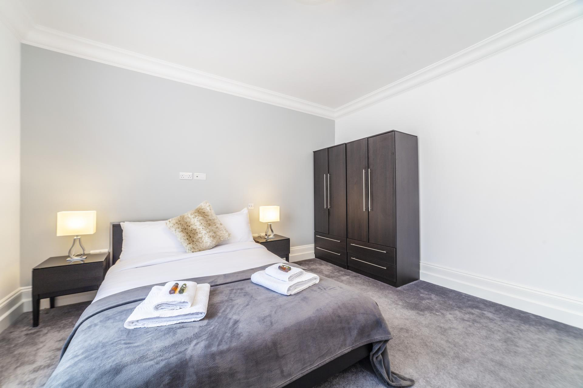 Wardrobe at Devonshire Terrace Apartments, Bayswater, London