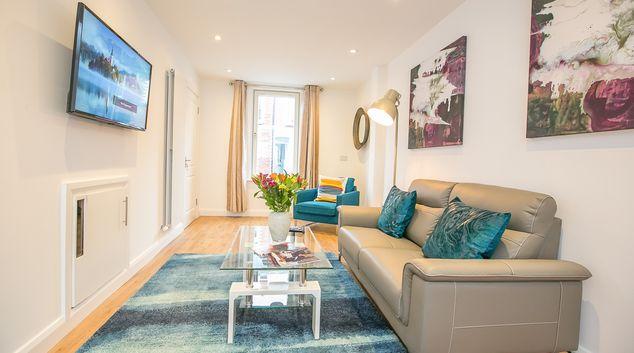 Living room at Ormeau Street House, Stella Gardens, Dublin