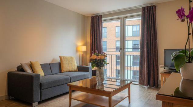 Sofa at Premier Suites Birmingham