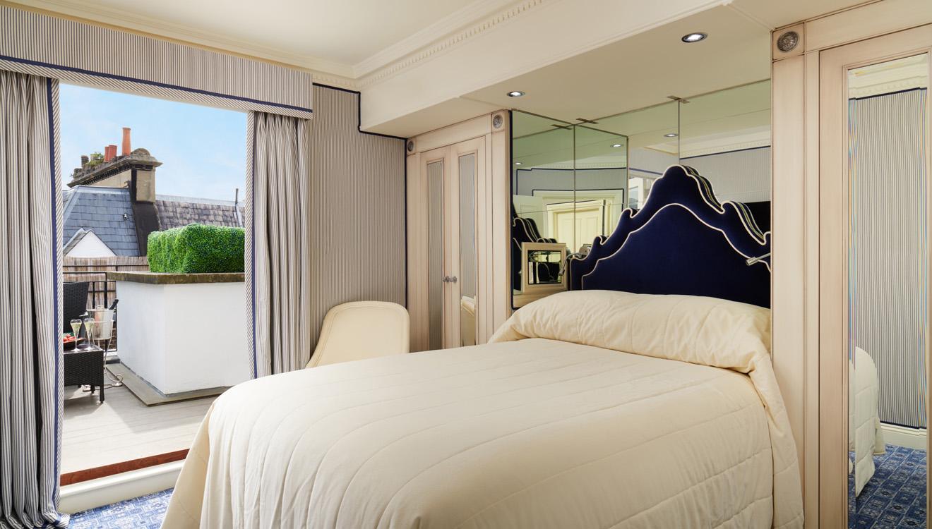 Bedroom at Milestone Apartments