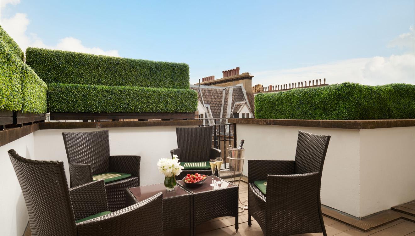 Terrace at Milestone Apartments