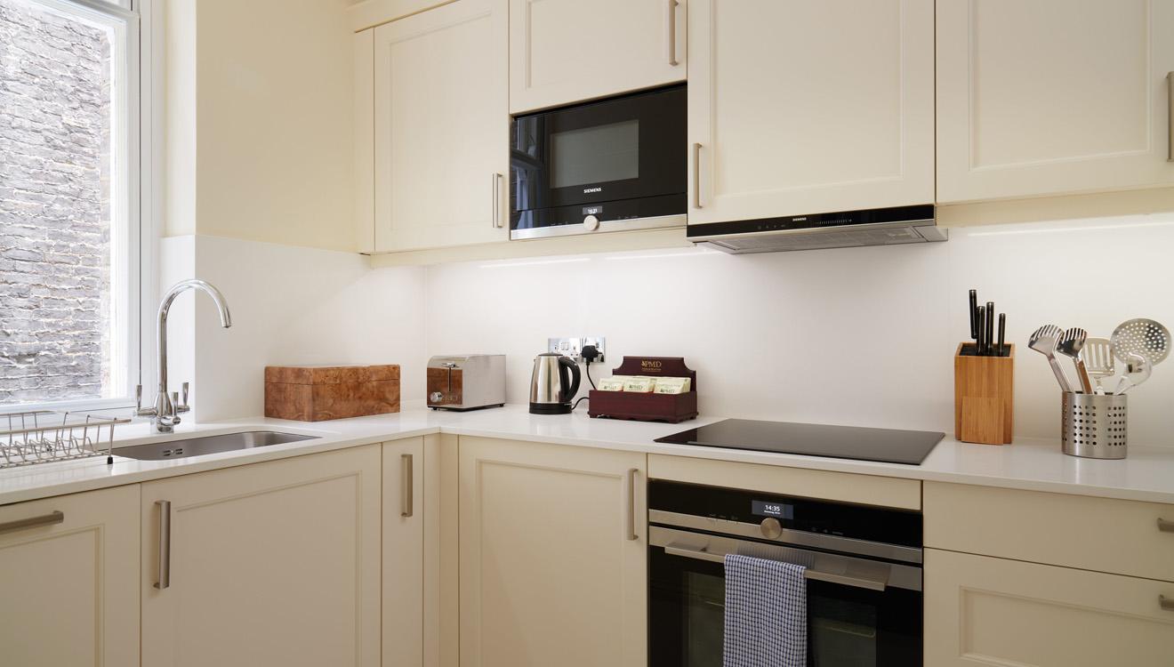 Kitchen at Milestone Apartments