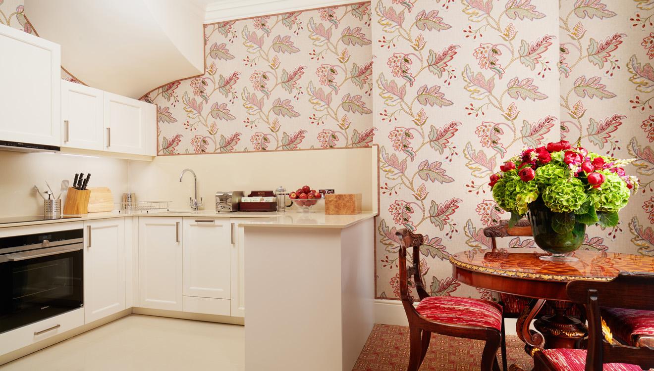 Kitchen/dining area at Milestone Apartments