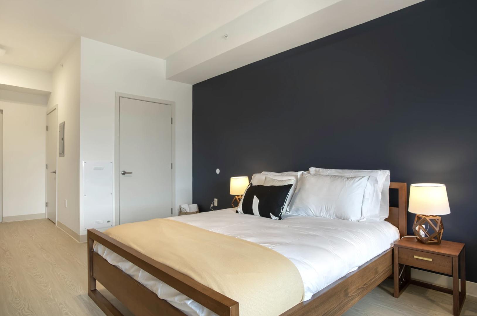 Bedroom at 24 Franklin Street