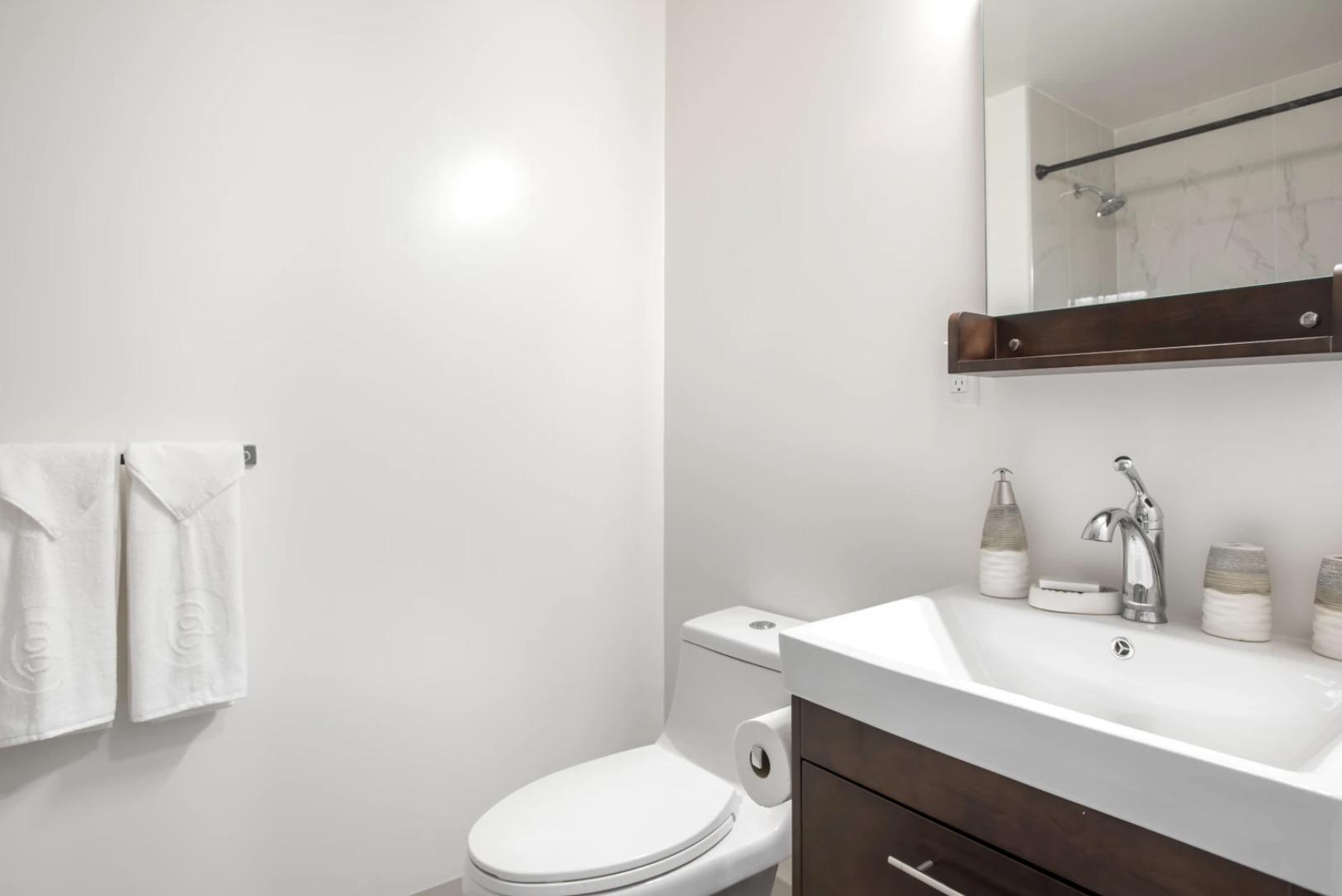 Bathroom at 24 Franklin Street
