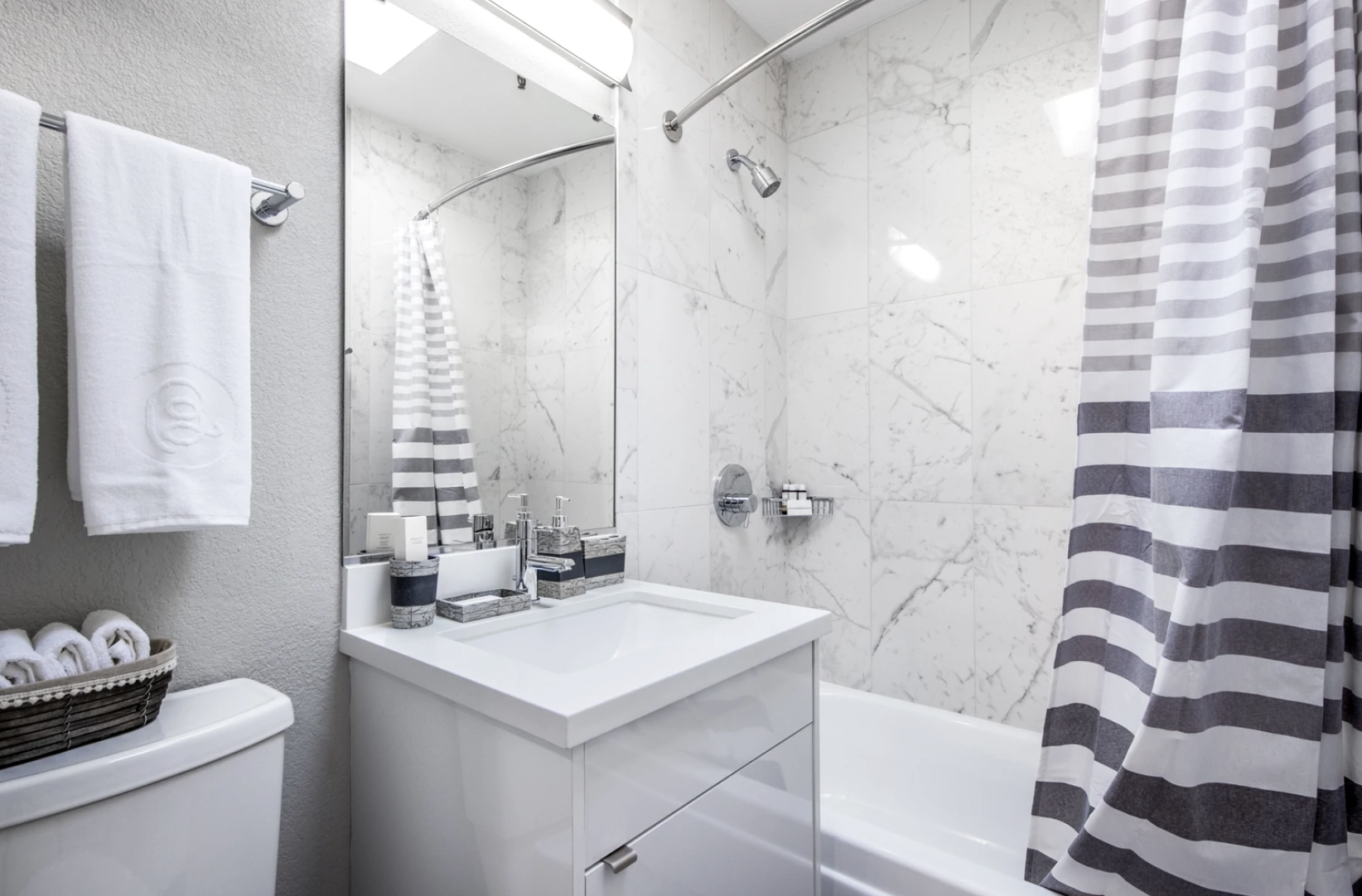 Bathroom at The Castro Apartments