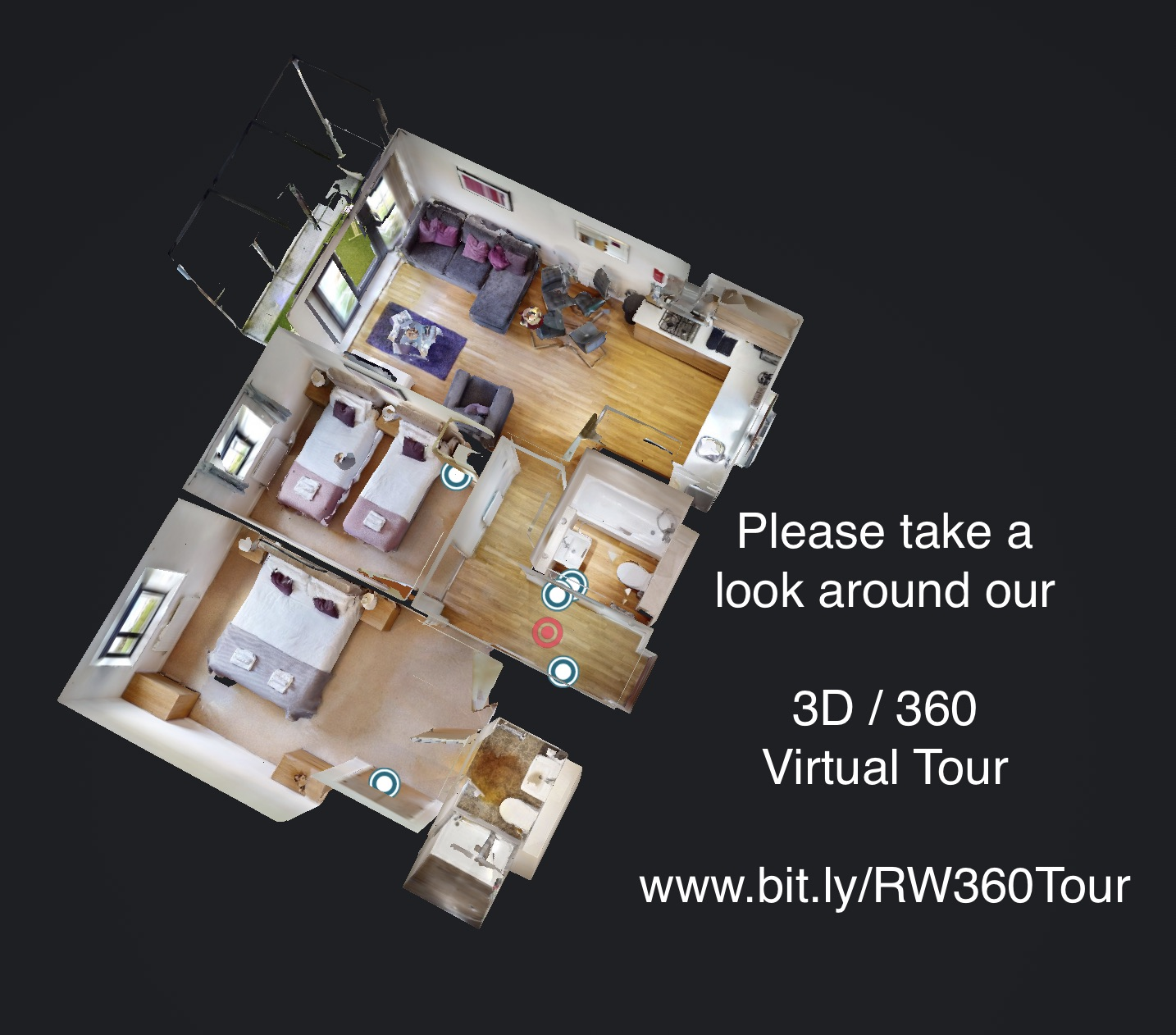 Floor plan of Rollason Serviced Apartment, Centre, Brentwood