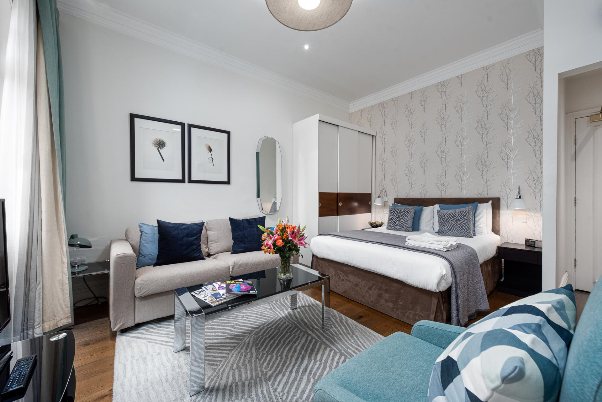 Studio at Draycott Place Serviced Apartments, Chelsea, London