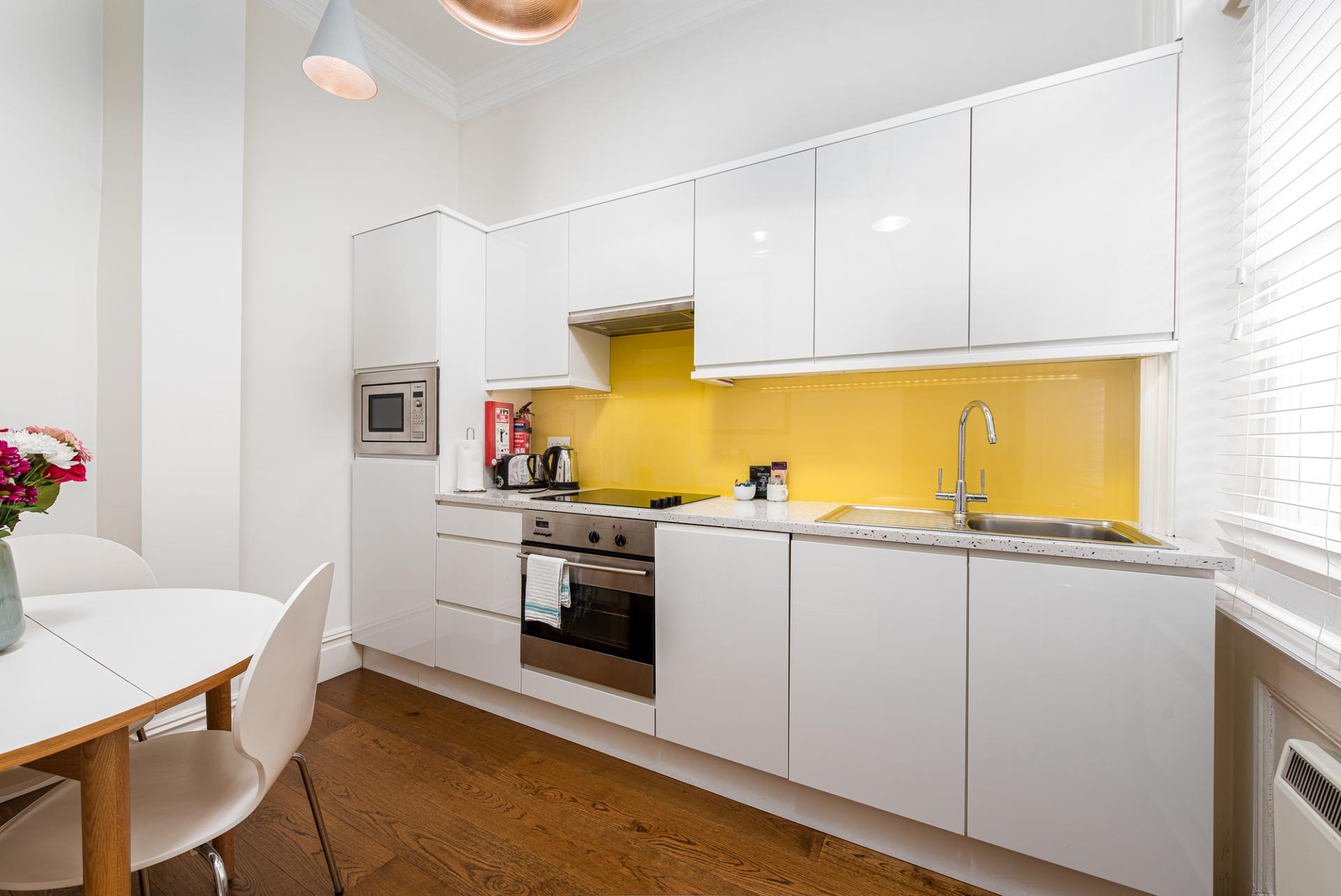 Oven at Draycott Place Serviced Apartments, Chelsea, London