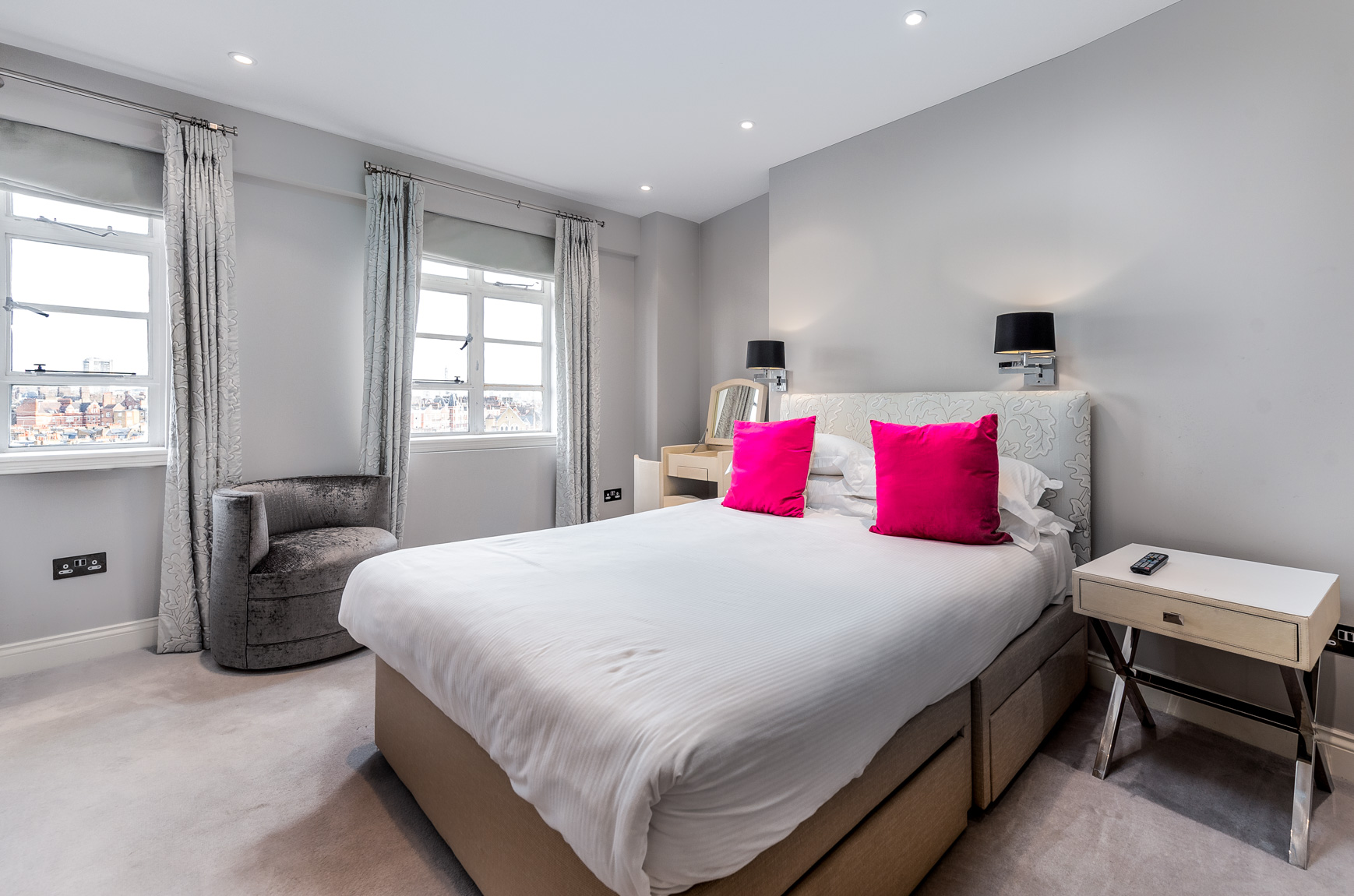 Bedroom at Nell Gwynn House Accommodation, Chelsea, London
