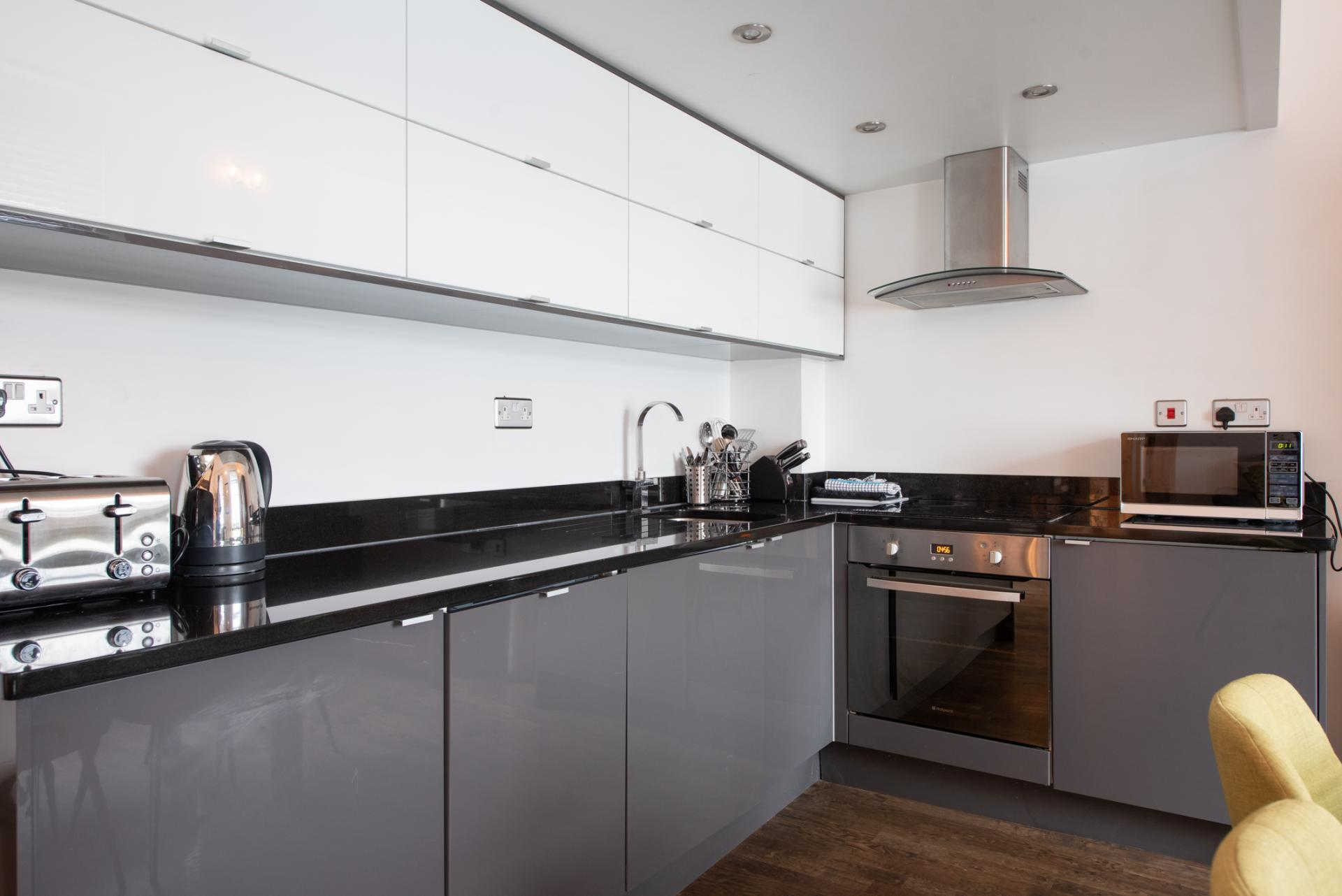 Kitchen at Chelsea Green Apartments, Chelsea, London