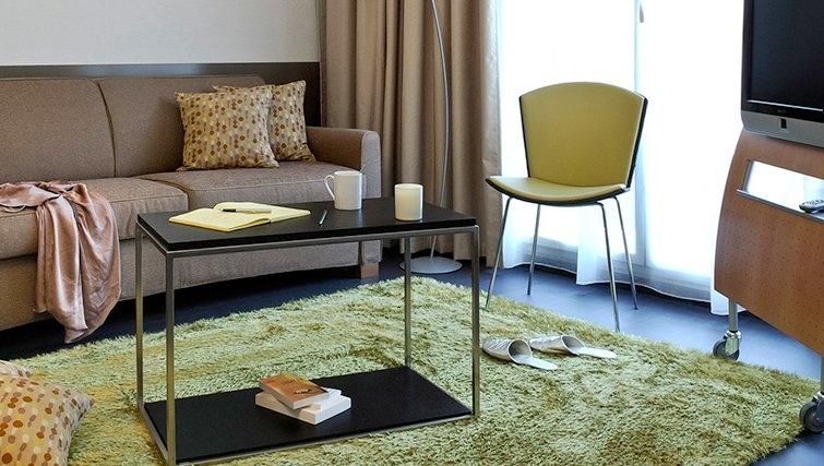 Sophisticated living area in Adagio Bordeaux Gambetta
