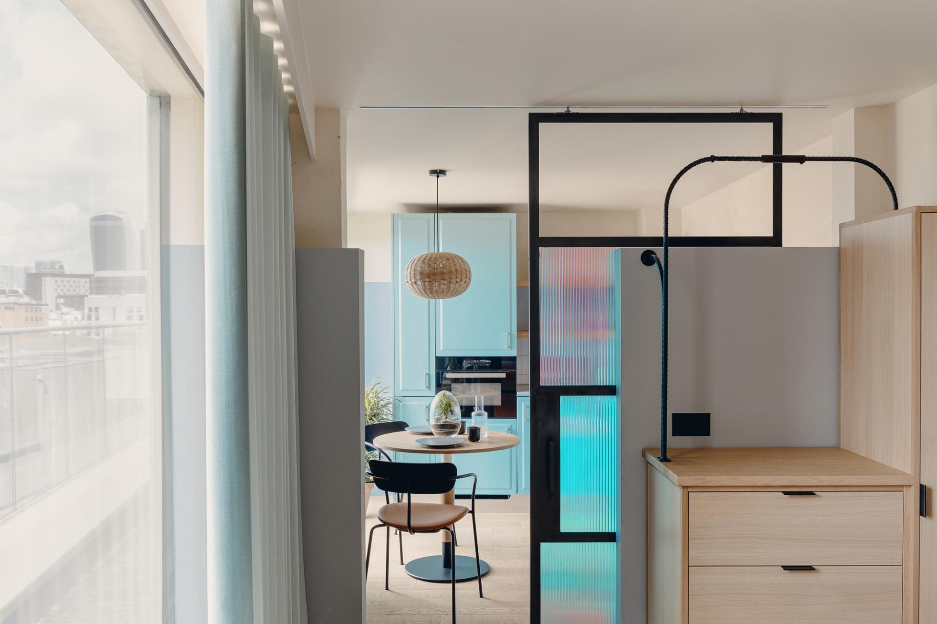 Open-plan at Bermonds Locke, St Saviours Estate, London
