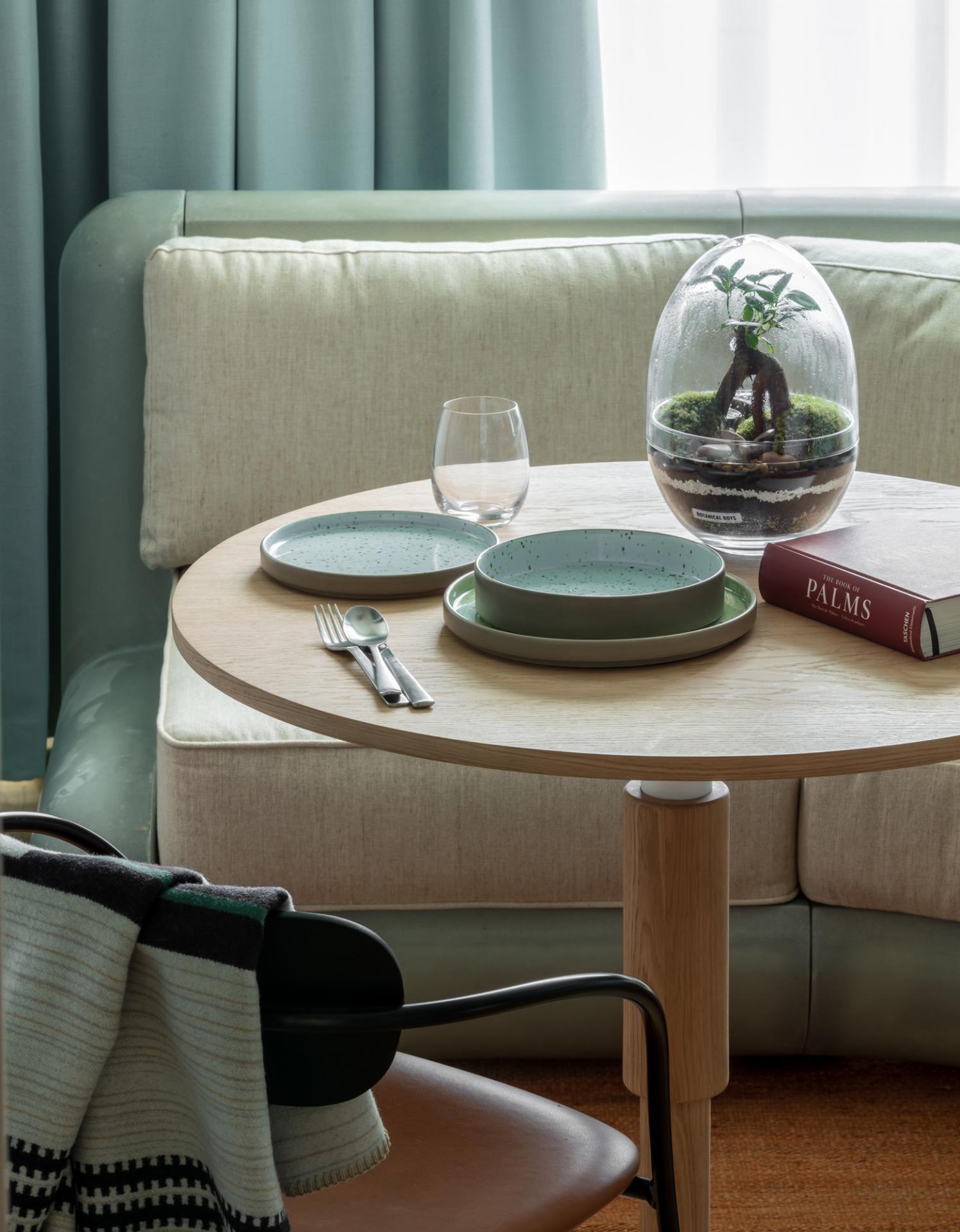 Table at Bermonds Locke, St Saviours Estate, London