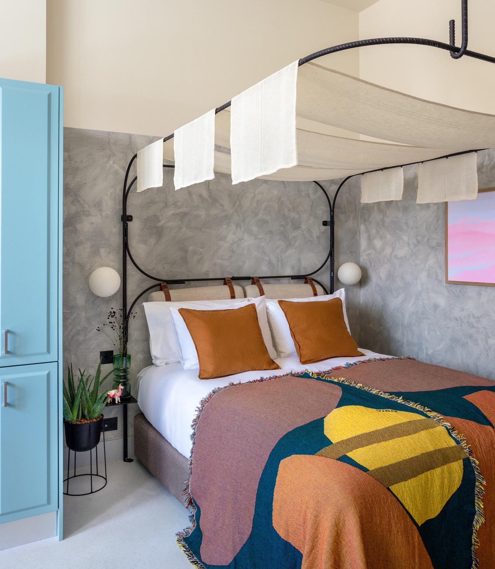 Bright bedroom at Bermonds Locke, St Saviours Estate, London