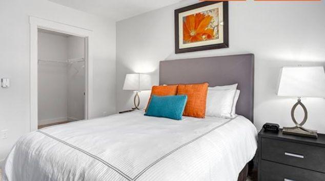 Bedroom at Belcarra Apartment, Bellevue, Seattle