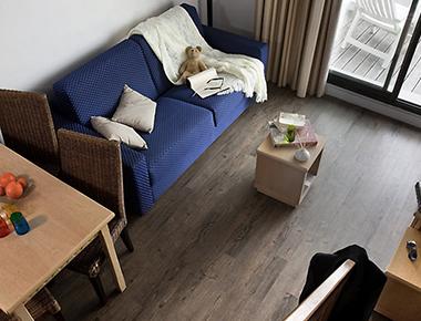 Relaxing living area in Adagio Marseille Prado Plage