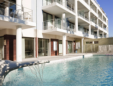 Stunning pool in Adagio Marseille Prado Plage