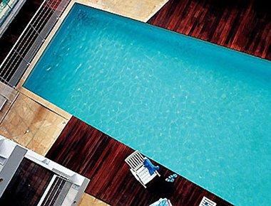 Striking pool in Adagio Marseille Prado Plage