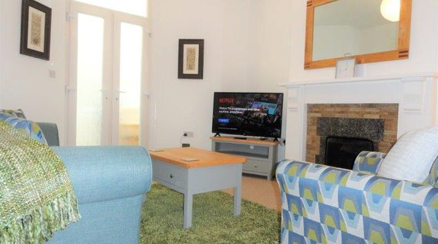 Living area at Priory Apartment, Knowle, Bristol