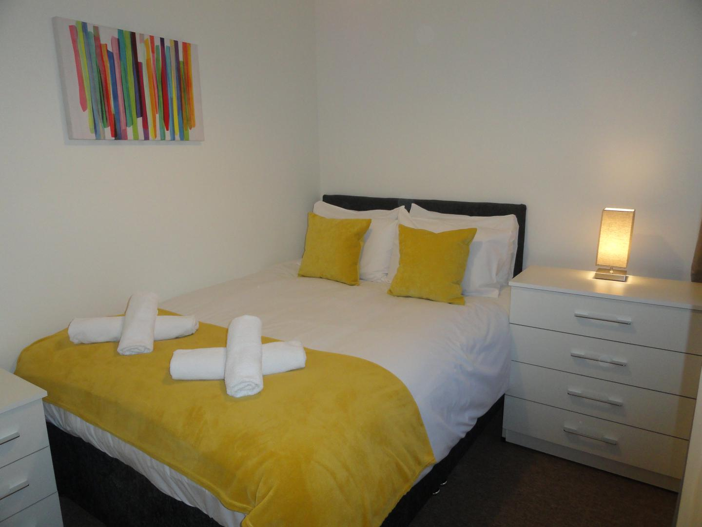 Bedding at Luckwell Apartments, Bedminster, Bristol
