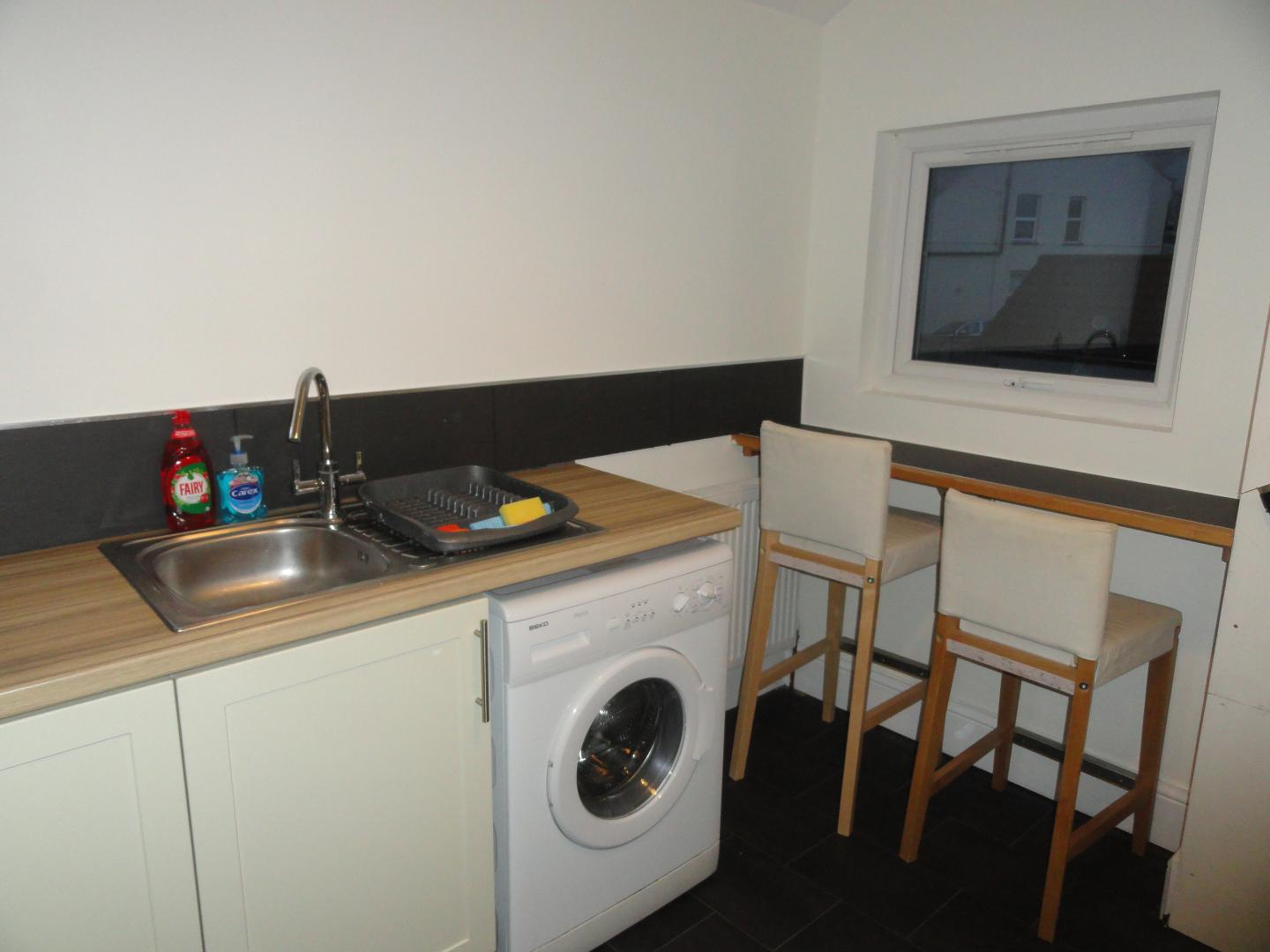 Laundry at Luckwell Apartments, Bedminster, Bristol