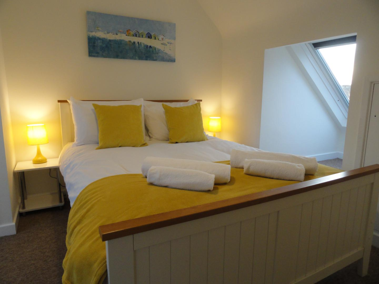 Bed at Luckwell Apartments, Bedminster, Bristol