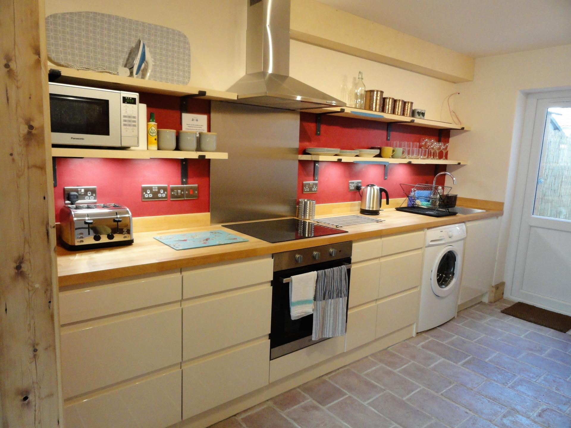 Kitchen at Luckwell Apartments, Bedminster, Bristol