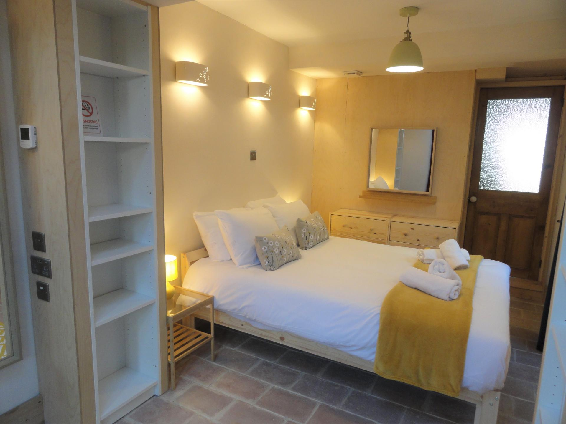 Bedroom at Luckwell Apartments, Bedminster, Bristol