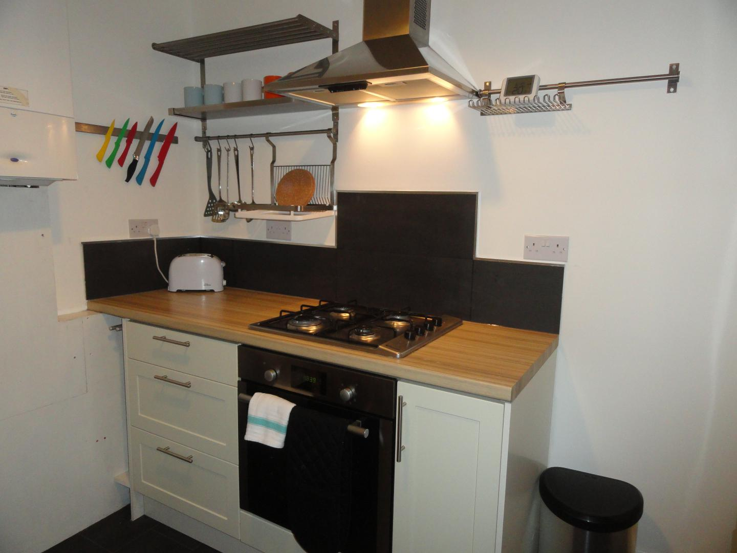 Worktop at Luckwell Apartments, Bedminster, Bristol