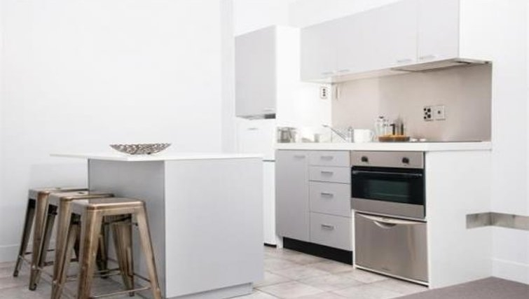 Contemporary kitchen in Quest Newmarket