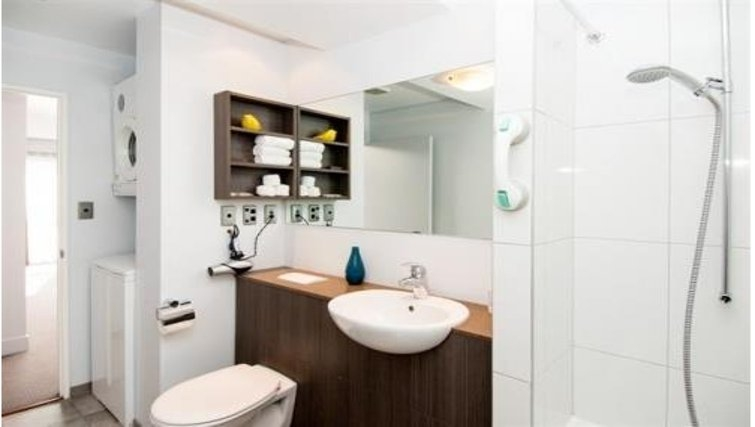Lovely bathroom in Quest Newmarket