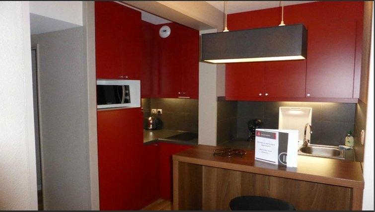 Elegant kitchen in Adagio Toulouse Centre Ramblas
