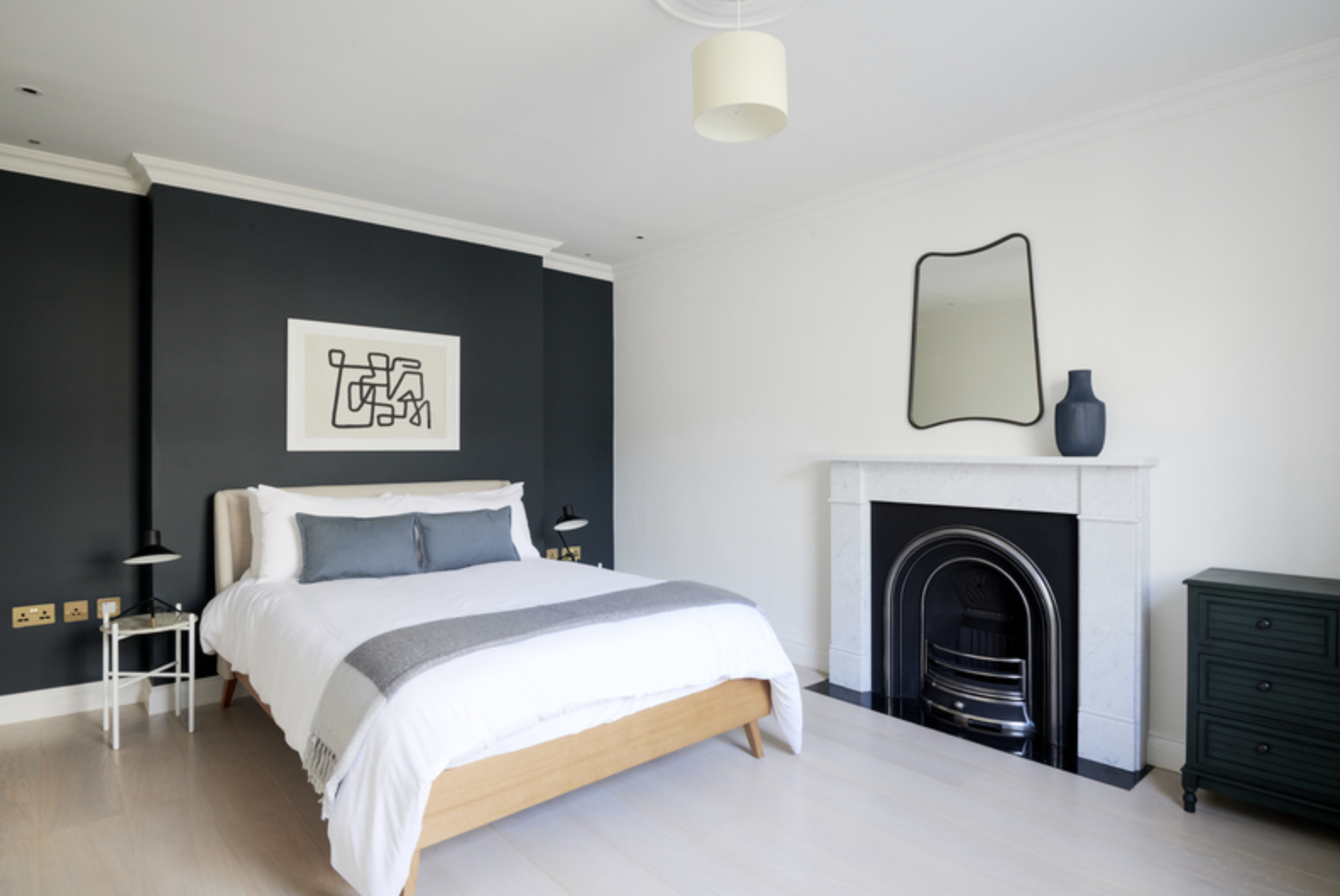 Bedroom at Kensington Townhouse, Bayswater, London