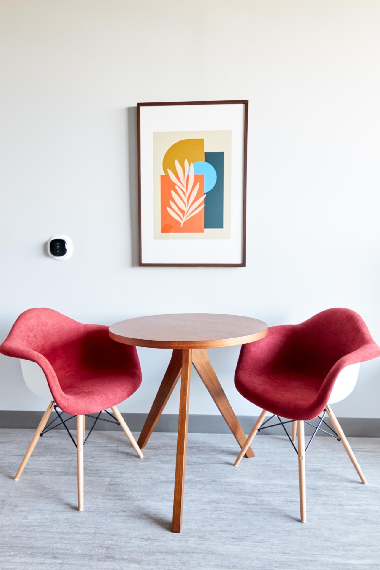 Armchairs at McKinley Apartments, Center, Phoenix
