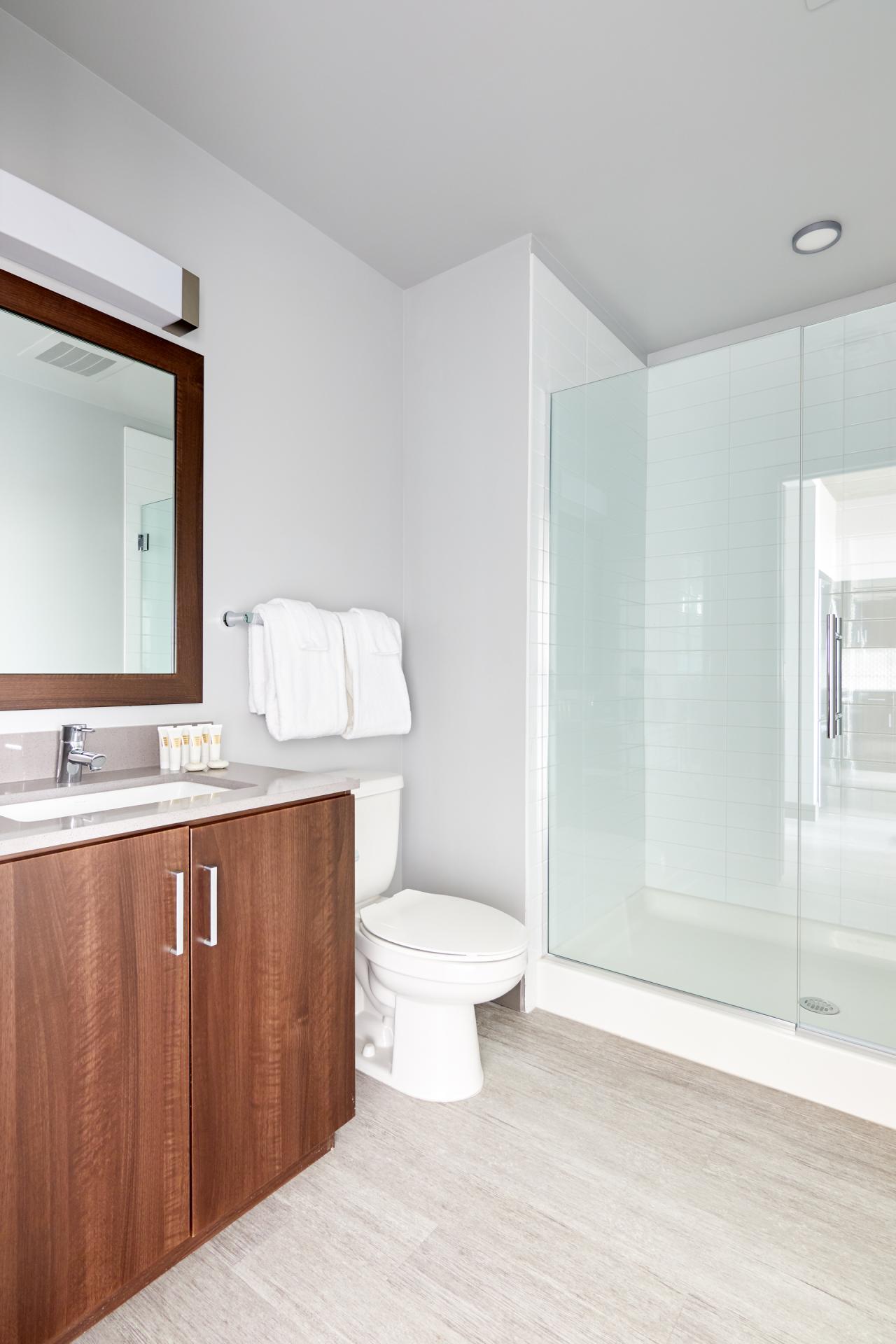 Bathroom at McKinley Apartments, Center, Phoenix
