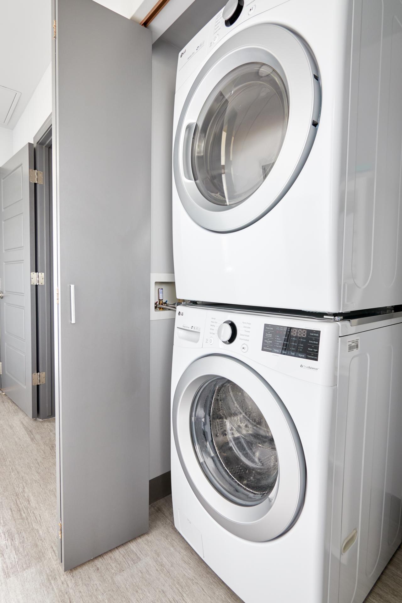 Laundry at McKinley Apartments, Center, Phoenix