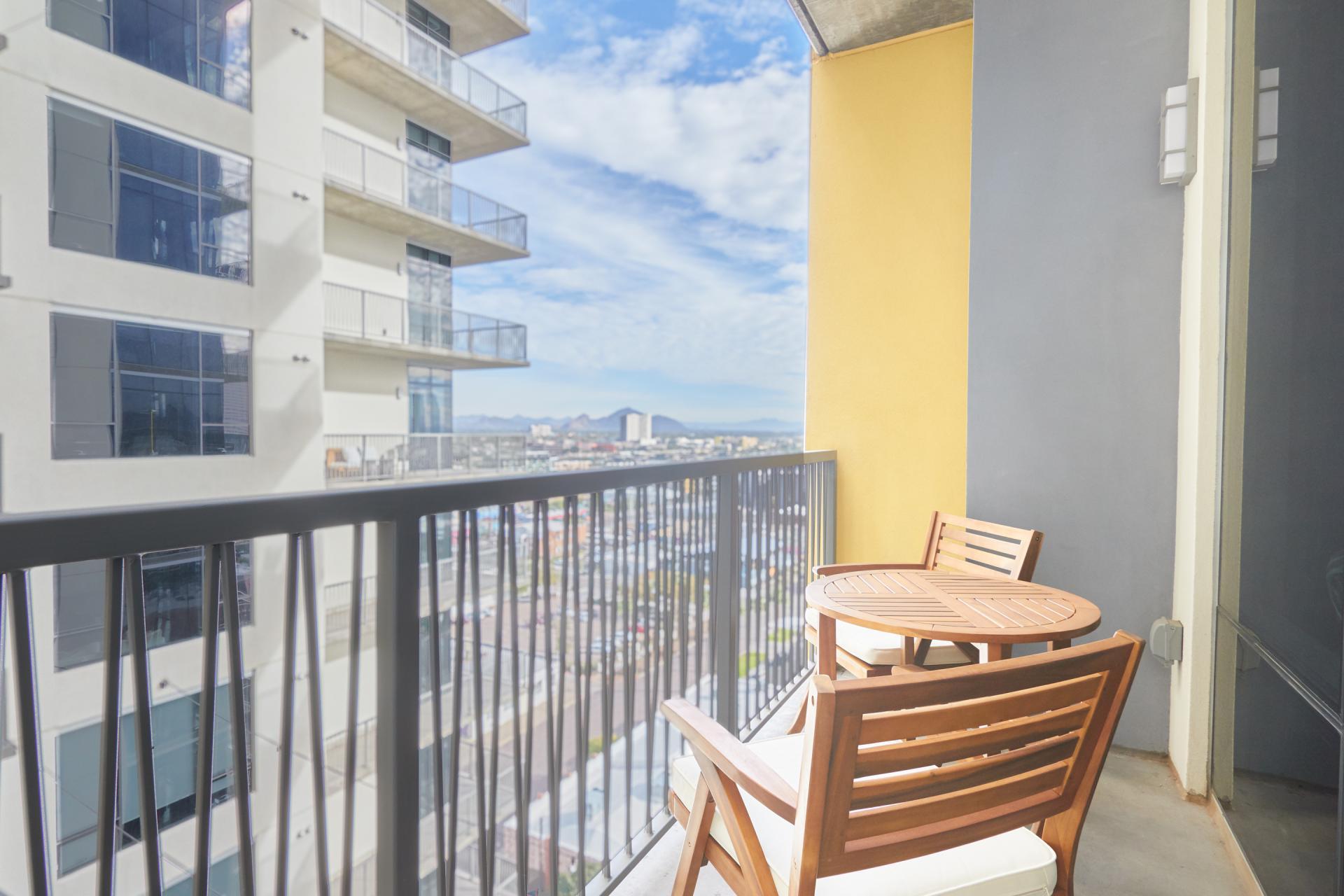Balcony at McKinley Apartments, Center, Phoenix
