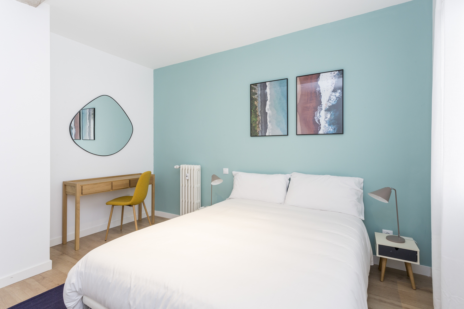 Bed at Calle Gravina Apartment, Centre, Madrid