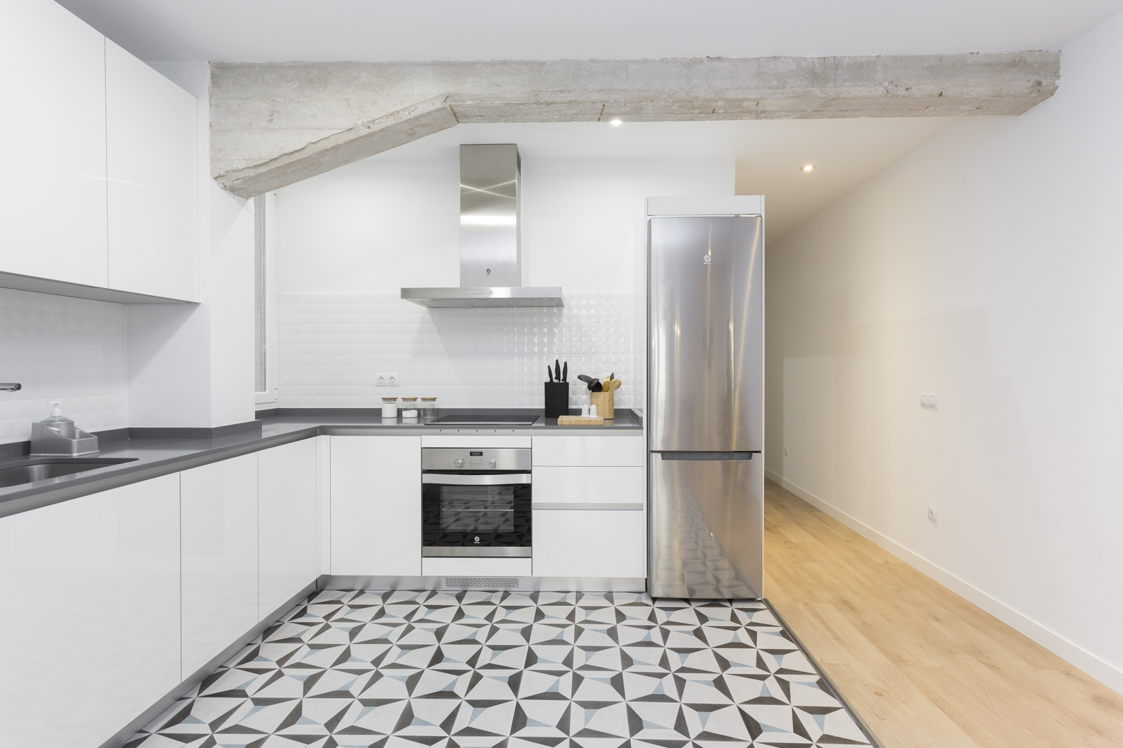 Kitchen at Calle Gravina Apartment, Centre, Madrid