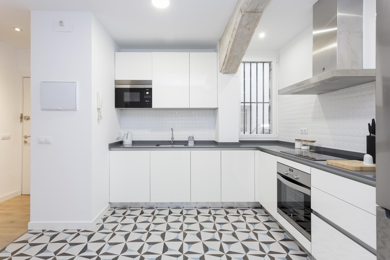 Tiles at Calle Gravina Apartment, Centre, Madrid